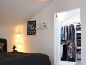 Living-Haus Kundenhaus Mikula Langner Ankleide Schlafen