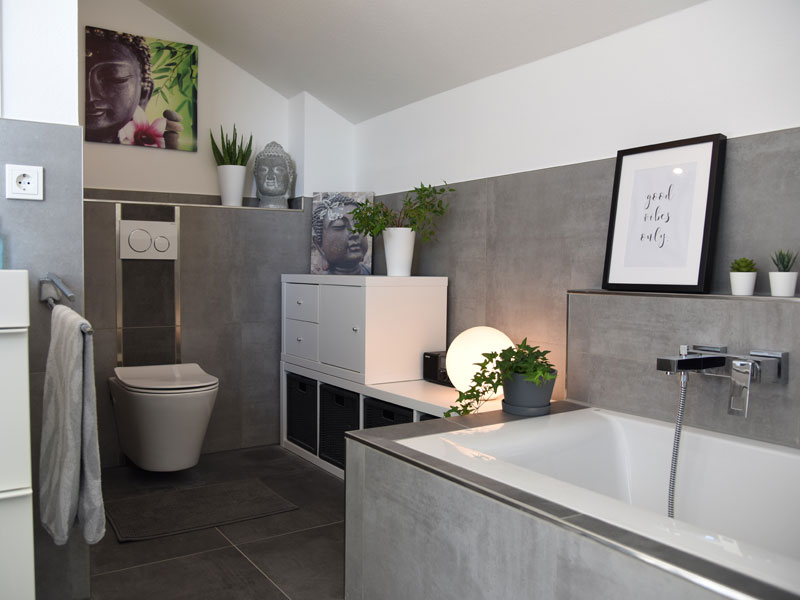 Living-Haus Kundenhaus Mikula Langner Bad