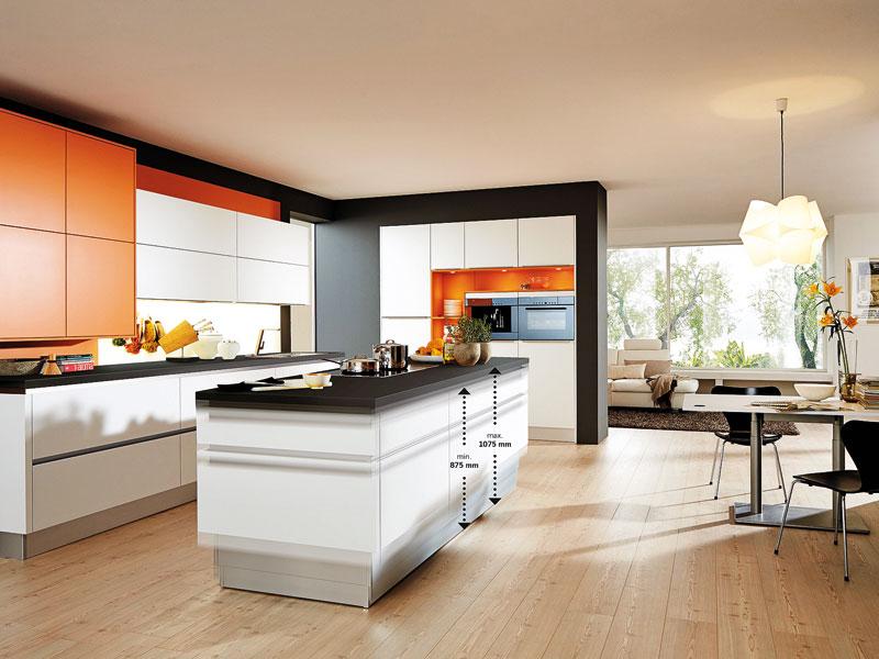 ergonomische küche höhe