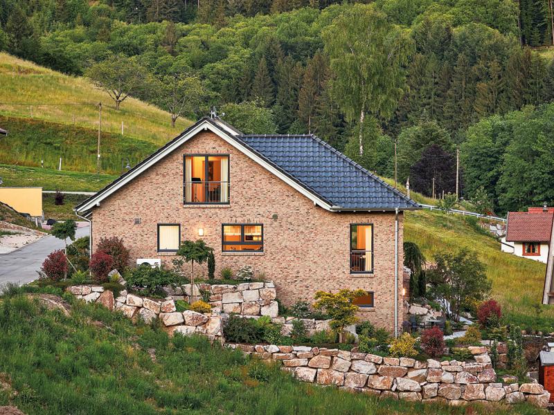 Entwurf Gaisbach von Gussek Haus. Gartenansicht