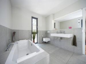 Bad im Haus Cornelius von Baumeister-Haus