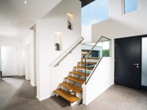 Kundenhaus Lessing von Weber-Haus - Treppe