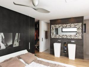 Kundenhaus Rossier von Weber-Haus -Schlafzimmer