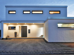 Regnauer Vitalhaus Ulm - Haustür