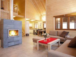Haus Maribor von Rubner-Haus -Kamin