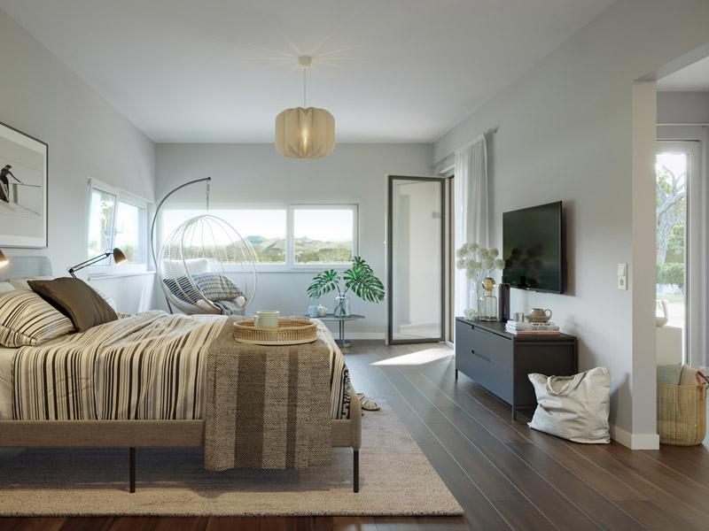 Schlafzimmer im SOLUTION 101