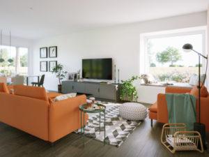 Wohnbeispiel im SOLUTION 110 von Living Haus
