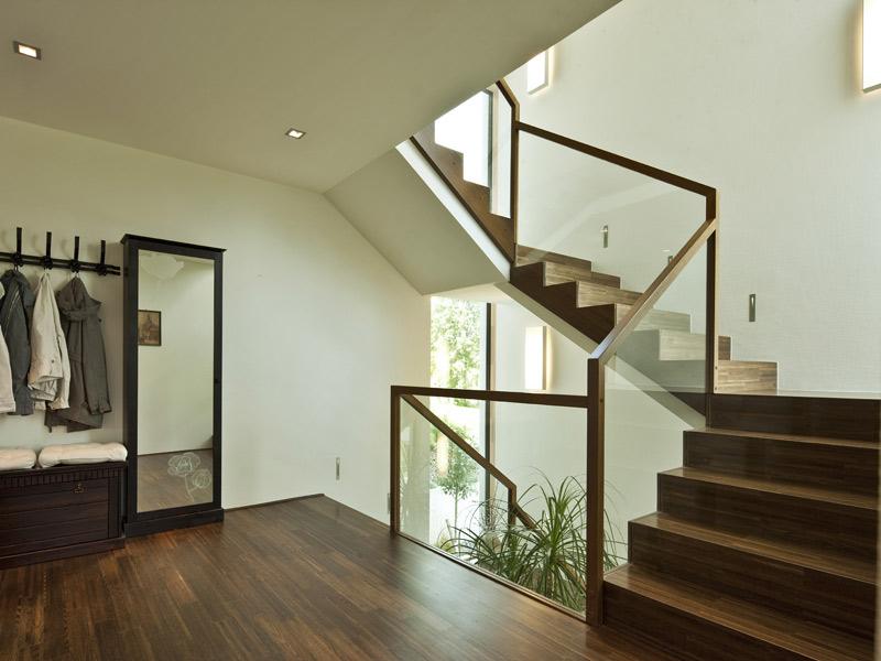 Haus Collmann von Baumeister-Haus. Diele und Treppenhaus
