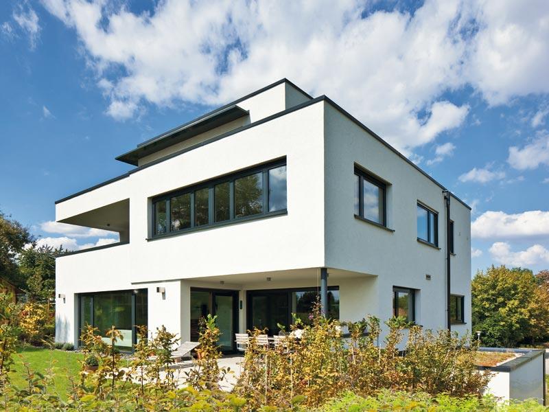 Haus Collmann von Baumeister-Haus. Terrasse