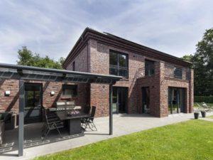 Haus Dorn von Baumeister-Haus. Terrasse
