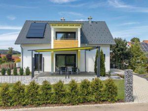 Haus Echterkamp von Baumeister-Haus. Außen