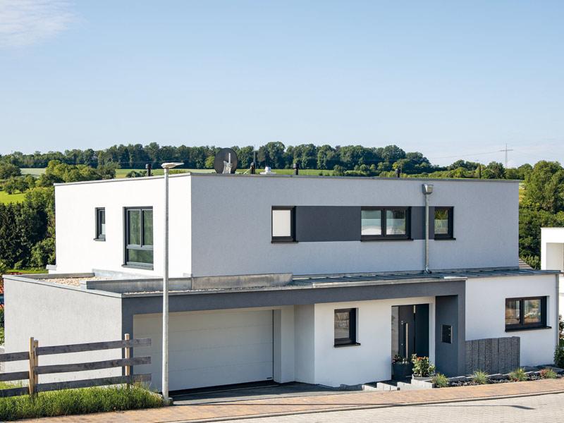 Einfamilienhaus Gerlach von Baumeister-Haus - Eingang