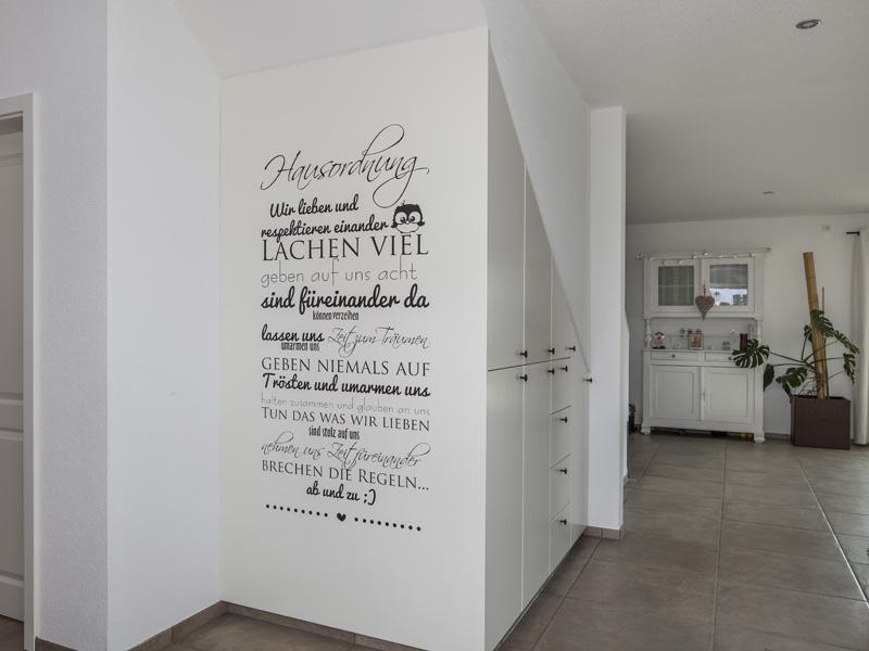 Haus Lehmann von Baumeister-Haus. Eingangsbereich