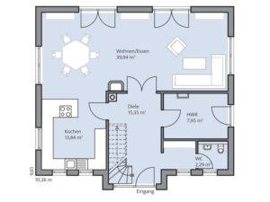 Haus Brede von Baumeister-Haus - EG