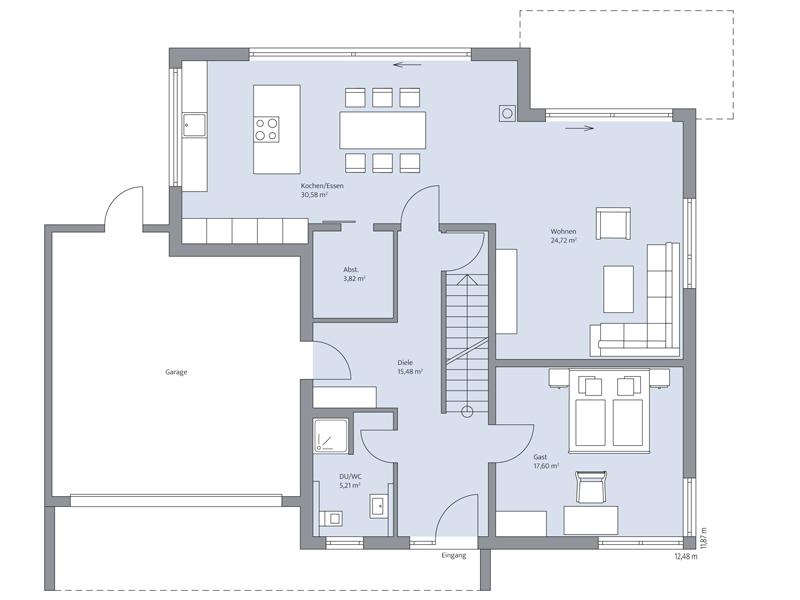 Haus Gerlach von Baumeister-Haus -Erdgeschoss