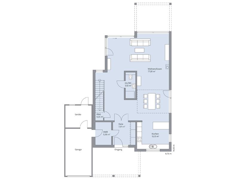 Haus Hildebrand von Baumeister-Haus EG
