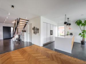 Haus Großkopf Wulfes von Weberhaus. Eingangsbereich