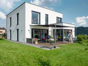 Haus Großkopf Wulfes von Weberhaus. Terrasse