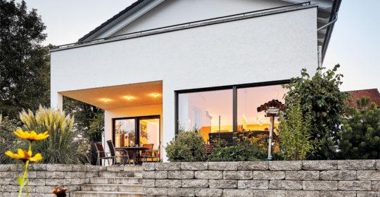 Landhaus Satteldach 139 von Luxhaus