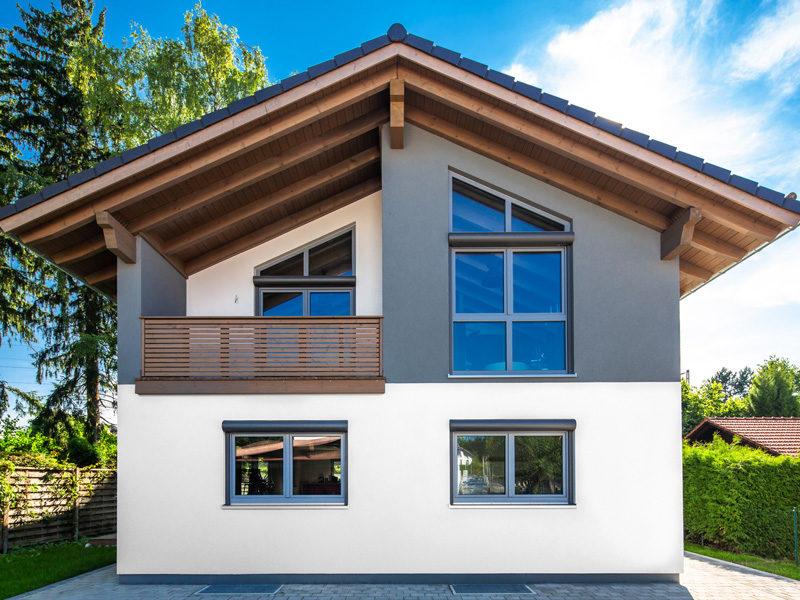 Architektenhaus Leitensee von Isartaler Holzhaus