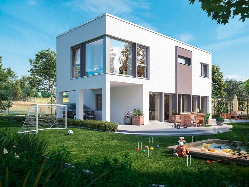 Haus Sunshine 154 V7 von Living Fertighaus